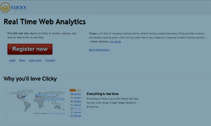 A realtime Google Analytics alternative